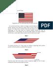 US Flag Folding