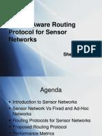 Sensor Networks