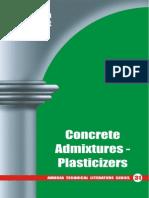31 Concrete Admixtures - Plasticizers