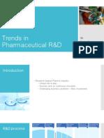 Trends in Pharmaceutical R&D