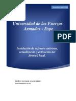 3.Activar Firewall _Intalacion de Antivirus