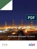 Adani Power Brochure