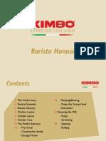 Kimbo Barista Training Manual - Low Res