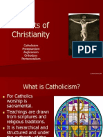 variants of christianity ppt
