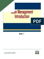 Lean Management Chapter 1