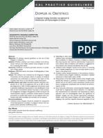 SOCG - Use of Fetal Doppler in OB