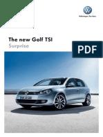 Brochure Golf Tsi