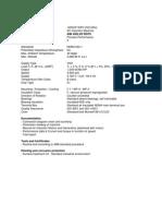 Ficha Técnica 1250HP WPII VSD 60Hz Rev Sept 01 2010 Con Accelerometer Horizontal