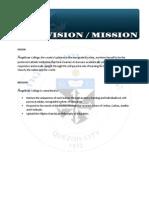 Angelicum Vision Mission