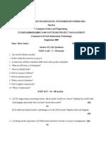 CS9269 Software Project Management Nov Dec 2012