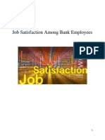 Job Satisfaction Among Bank Employees