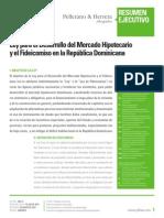 Ley 189-11 Desarrollo Del Mercado Hipotecario y Fideicomiso Analisis