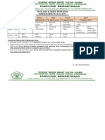 Jadwal Revisi Remidi Genap TA 2013-2014