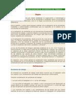 Protocolo de Investigación de Accidentes de Trabajo