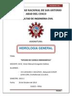 Cuenca Hidrografica - 2013 -II
