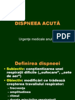 Dispnee acuta