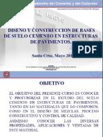 Suelo Cemento Curso IBCH-2012