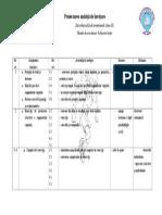 Proiectarea UnitÇîii de ŒnvÇîare Dezvoltare FizicÇ ArmonioasÇ Cls III
