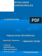 Hipoacusias Neurosensoriales