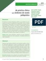 Guía de práctica clínica  de síndrome de ovario  poliquístico