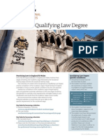 LLB Qualifying Law Degree