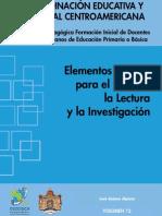 Elementos Para El Estudio La Lectura Y La Investigacion