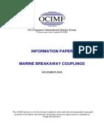 Marine Breakaway Couplings
