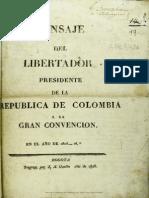 Convención de Ocaña 1828