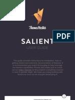 Salient User Guide