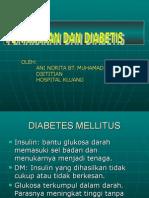 Pemakanan Dan Diabetis