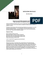 Napoleonic DBA Rules