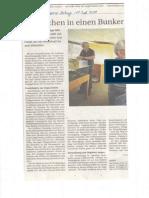 Archäologisches Museum Artikel in der neuen Luzerner Zeitung vom 18. Juli 2014 (Scan)