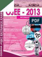 Information Brochure Ojee 2013