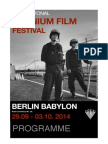 Berlin Uranium Film Festival 2014 Programme - English