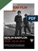 Berlin Uranium Film Festival 2014 Programme - English
