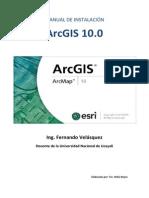 Manual de Instalación Arcgis 10.0