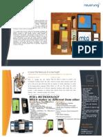 Brochure iPhone