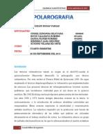 Polarografia informe
