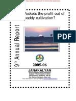 JANAKALYAN 9 Annual Report 2005-06