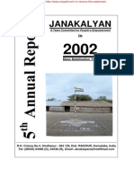 JANAKALYAN 5 Annual Report 2001-02