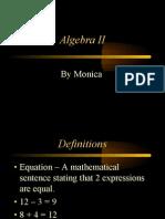 algebraIIOpt