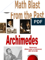Archimedes Blast From The Past