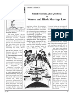Hindu marriage law