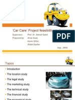 car care project feasibility study-130916161800-phpapp02