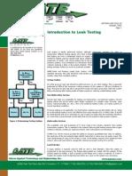 GAT2004 GKP 2013.10 Introduction to Leak Testing