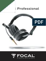 Spirit Professional User Manual Notice