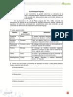 Ficha Funciones Del Lenguaje