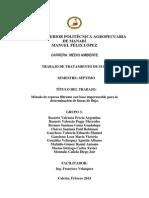 Informe práctica represa