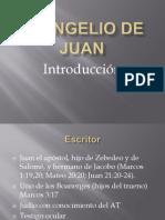 Introduccion Evangelio de Juan