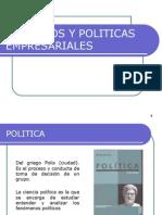 Objetivos y Politica Empresariales